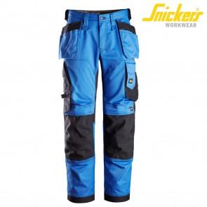 Delovne hlače na pas SNICKERS AllroundWork 6251-5604 modra/črna