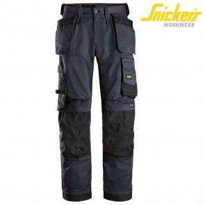 Delovne hlače na pas SNICKERS AllroundWork 6251-5804 siva/črna