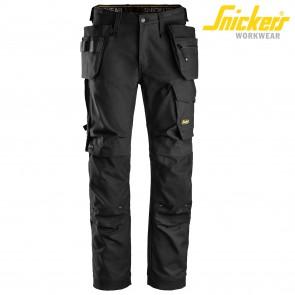 Delovne hlače na pas SNICKERS AllroundWork 6270-0404-črna