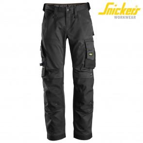 Delovne hlače na pas SNICKERS ALLROUND WORK 6351-0404 črna