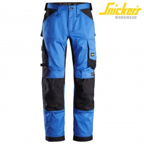 Delovne hlače na pas SNICKERS ALLROUND WORK 6351-5604 modra/črna