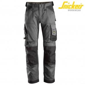 Delovne hlače na pas SNICKERS ALLROUND WORK 6351-5804 siva/črna