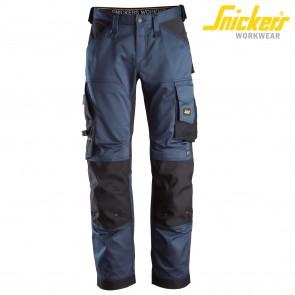 Delovne hlače na pas SNICKERS ALLROUND WORK 6351-9504 temno modra