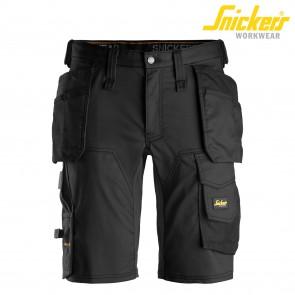 Kratke hlače SNICKERS AllroundWork 6141-0404 črna