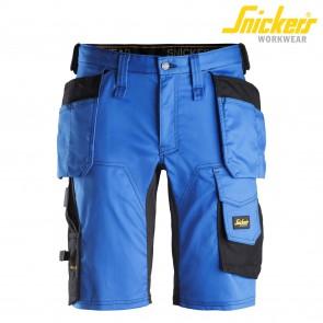 Kratke hlače SNICKERS AllroundWork 6141-5604 modra/črna