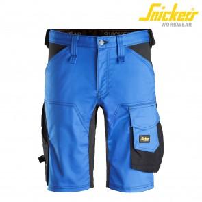 Kratke hlače SNICKERS AllroundWork 6143-5604 modra/črna