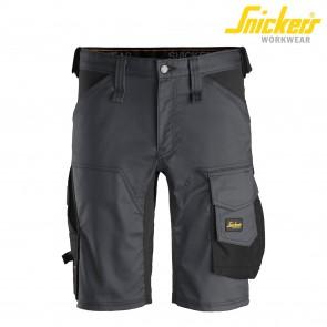 Kratke hlače SNICKERS AllroundWork 6143-5804 siva/črna