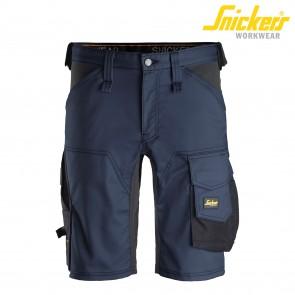 Kratke hlače SNICKERS AllroundWork 6143-9504 temno modra/črna