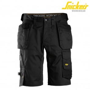 Kratke delovne hlače SNICKERS AllroundWork 6151-0404 črna