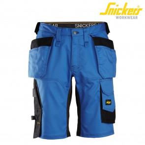 Kratke delovne hlače SNICKERS AllroundWork 6151-5604 modra/črna