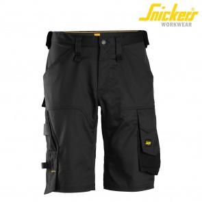 Kratke delovne hlače SNICKERS AllroundWork 6153-0404 črna
