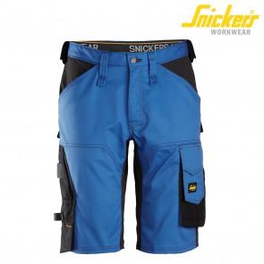 Kratke delovne hlače SNICKERS AllroundWork 6153-5604 modra/črna