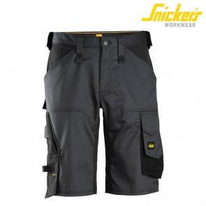 Kratke delovne hlače SNICKERS AllroundWork 6153-5804 siva/črna