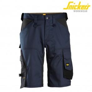Kratke delovne hlače SNICKERS AllroundWork 6153-9504 temno modra/črna