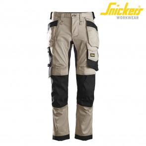 Delovne hlače na pas SNICKERS AllroundWork 6241-2004 svetlo rjava