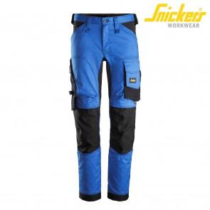 Delovne hlače na pas SNICKERS AllroundWork 6341-5604 modra/črna