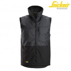 Telovnik SNICKERS AllroundWork Winter Vest 4548-5804 siva/črna