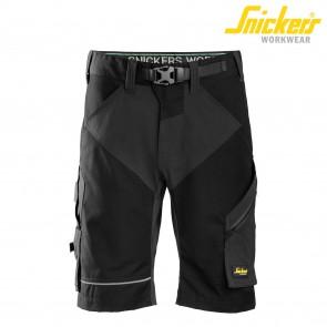 Kratke delovne hlače SNICKERS FlexiWork 6914-0404 črna