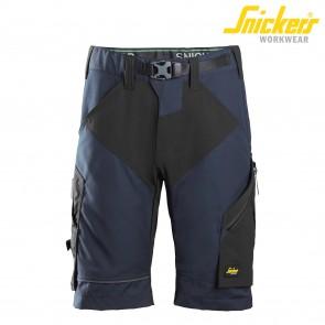 Kratke delovne hlače SNICKERS FlexiWork 6914-9504 temno modra/črna