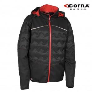 Delovna jakna COFRA POLIGUS V377-0-06 rdeča