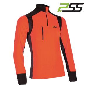 Gozdarska majica PSS X-treme Polar 905 črna/oranžna