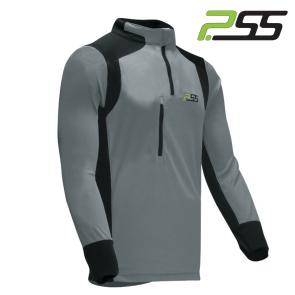 Gozdarska majica z dolgimi rokavi PSS X-treme Skin 702 črna/siva