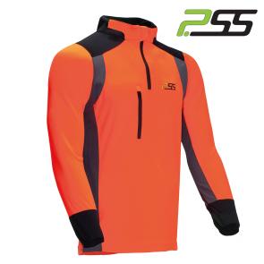 Gozdarska majica z dolgimi rokavi PSS X-treme Skin 902 sivo/oranžna